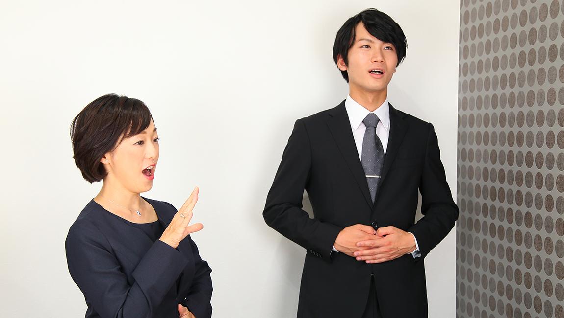 男性も魅力と話し方、プレゼン力アップ!神戸アナウンススクール アナウンサー養成スクール
